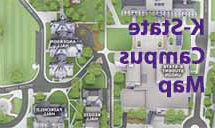 K-State Campus Map